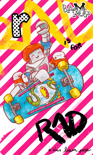 r is for rad!